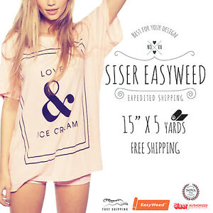 Siser Easyweed 15 X 5 Yards Select Up To 5 Colors Free Shipping