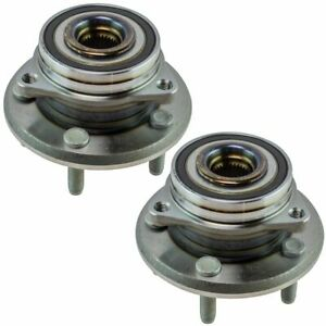 Timken Wheel Bearing Hub Assembly Front Lh Rh Pair For Durango Grand Cherokee
