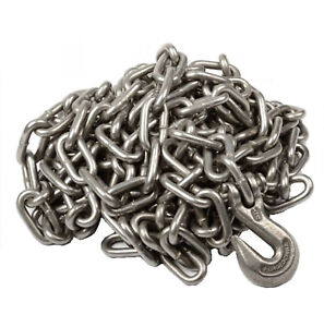 1 4 X 20 Heavy Duty Tow Chain Automotive Truck Towing 20ft Log Chain