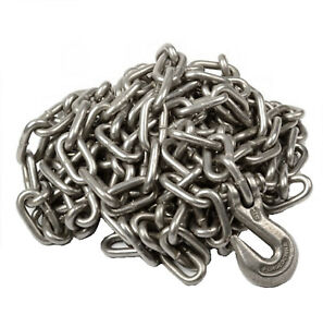1 4 X 20 Heavy Duty Tow Chain Automotive Truck Towing 20ft Log