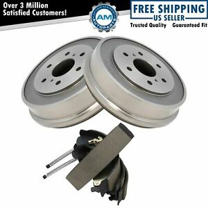 Nakamoto Rear Brake Drum Shoe Kit Sides For Chevy Silverado Gmc Sierra 1500