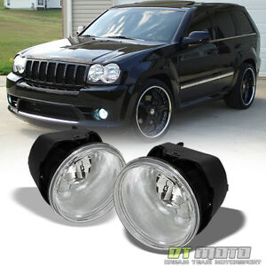 2005 2010 Jeep Grand Cherokee Commander Durango Dakota 300 Fog Lights W Switch