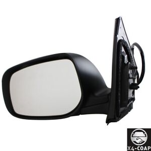 Black Vaq2 Front left Driver Side Door Mirror For Toyota Corolla To1320249