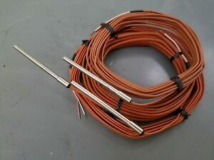 Temperature Sensors Thermocouple Stainless Steel K Type Probe misc Lot 20 Plus