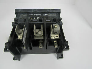 Allen Bradley Disconnect Switch 3pole Cat 1494v ds100 Ser b 100a 600v 250dc Max