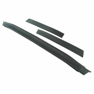 Front Lower 3 Piece Bumper Valence Panel Air Dam Deflector Kit For Chevy Malibu