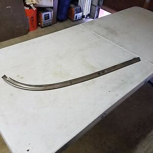 1955 1956 1957 Chevy Nomad Safari Ss Side Window Lower Rear Curved Pass Side