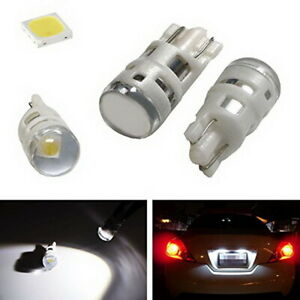 Cool White 168 194 2825 W5w Led Replacement Bulbs For Car License Plate Lights