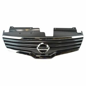 Oem 62070zn50a Chrome Black Grille With Emblem For Nissan Altima Sedan New