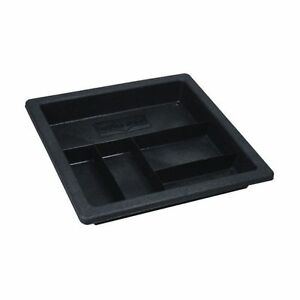 Better Built 23512470 5 Pocket Plastic Truck Tool Box Storage Tray 18 X 19