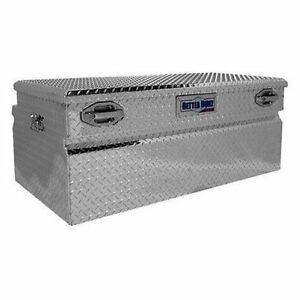 Better Built 79010981 Sec 48 Uncoated Aluminum Chest Single Lid Truck Tool Box
