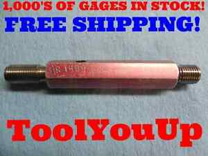 1 4 18 Npsf Go No Go Pipe Thread Plug Gage 25 P d s 4852 4904 Inspection