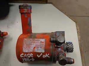Case 580b Diesel Backhoe Power Steering Pump D 188 A137187