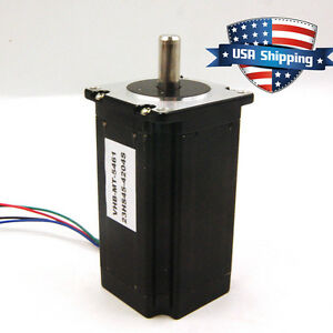 High Torque 3nm 425oz in Nema 23 57mm Stepper Motor 10mm Shaft Cnc Mill Router