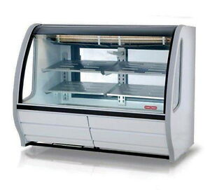 New 57 Refrigerated Display Case Torrey Tem150 w New 4951 Deli Bakery Cold Nsf