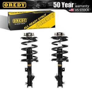 Oredy Front Pair Struts W Coil Spring Assembly For Nissan Murano 2003 2007