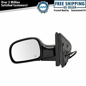 Power Heated Side View Mirror Folding Driver Left Lh New For Dodge Chrysler
