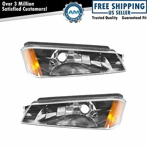 Corner Marker Parking Light Pair Set Lh Rh For Chevy Avalanche Pickup Truck