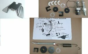 Clutch Rod Frame Crank Kit 340 E Body All B Body Mopar 66 70 4 Speed Manual