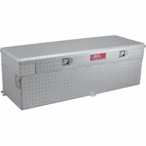 Rds 72744 60 Gallons Auxiliary Fuel Transfer Tank Toolbox Combination Aluminum