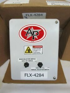 Automated Production Systems Flx 4284 Time Clock And Selector Switch Control Box