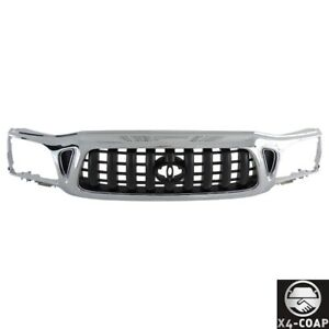 Fit For Toyota Tacoma Front Grille Chromed To1200248 5310004240