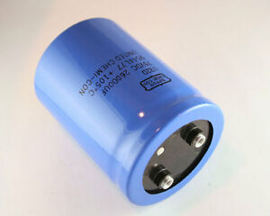 1x 26000uf 75v Large Can Electrolytic Capacitor 26000mfd 75 Volts Dc 26 000 Uf