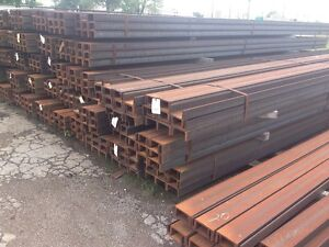 Carbon Steel Channel 6 Web X 3 Flange 16 3lbs ft X240 Long Astm A572 Gr 50