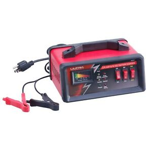 Ultra Performance 2 6 Amp 6 12 Volt Manual Battery Charger Trickle Charger