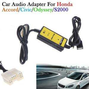 For Honda Accord Element 2003 2011 Car Usb Aux In Adapter Car Radio Interface