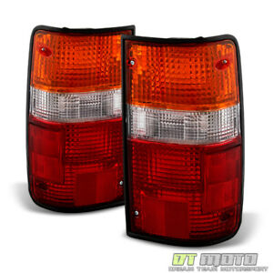 For 1989 1995 Toyota Pickup Tail Lights Brake Lamps Replacement Left right 89 95