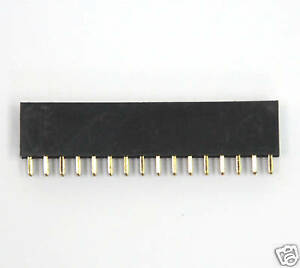 200pc Pin Female Header Pitch 2 54x2 54mm H 8 5mm Straight Type 2x16p 2x16 32p