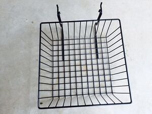 6 Pcs Gridwall Slatwall 12x12x4 Baskets Gridwall Display Fixture