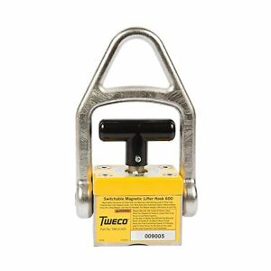 Tweco 200lb Smlh600 Magnetic Lifter Hook 9255 1066