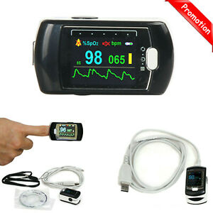Cms50ea Finger Pulse Oximeter Spo2 Pr Blood Oxygen Monitor Rechargeable Battery