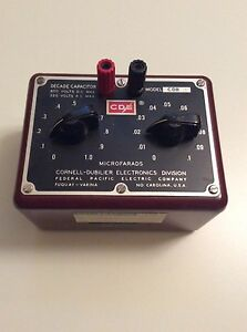 Federal Pacific Electric Co Model Cdb Decade Capacitor