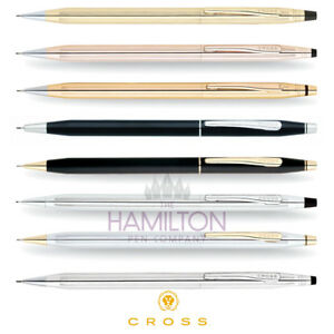 Cross Classic Century 0 7mm Mechanical Pencil Available In 8 Elegant Finishes