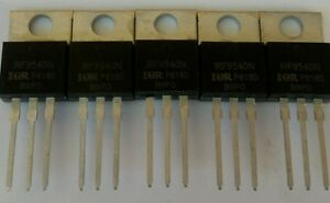 5 X Irf9540 Irf9540n ir Power Mosfet P channel 23a 100v Usa Seller Free Ship