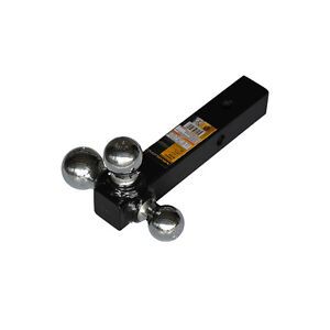 Maxload Tri Ball Tripple Hitch Towing Receiver Ball Sizes 1 7 8 2 2 5 16