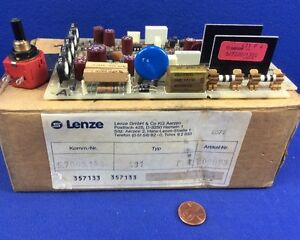 Lenze 431p4 Motor Speed Drive With 10kohm Potentiometer