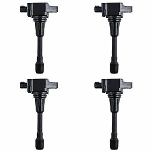 Ignition Coil Set Of 4 For Various Nissan Infiniti Fits Uf 549