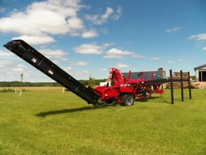 Brute Force 16 24 Firewood Processor With Conveyor Hydraulic Wedge Live Deck