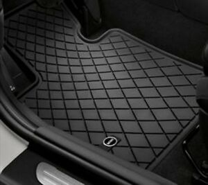 Oem Mini Cooper Front Floor Mats Carpeted Or All Weather Four Styles F55 F56 F57