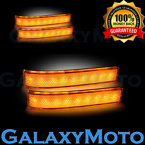 Ford 09 14 F150 Side Mirror Led Light turn Lights Led amber Lens Reflector