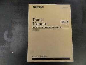Caterpillar Cat Cs cp 323c Vibratory Compactor Parts Manual Dar Eas