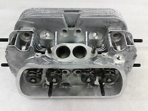 New Pair Vw 1600 Dual Port High Performance Cylinder Heads 94mm Bore