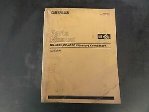 Caterpillar Cat Cs 433e Cp 433e Vibratory Compactor Parts Manual 7bj