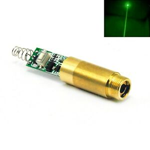 532nm 200mw 3 7 4 2v Green Laser Dot Module Diode W Driver Spring
