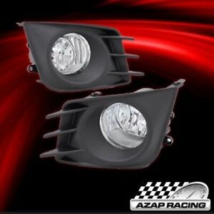 11 13 Oe Style Clear Lens Fog Lights Bumper Lamps W Covers Fits Scion Tc 2 Door