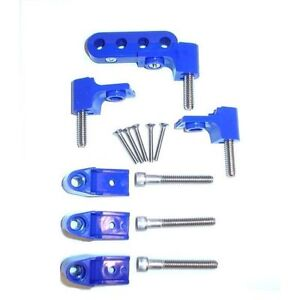 Taylor 42761 Spark Plug Wire Separator Bracket Horizontal Pack Of 4 Blue